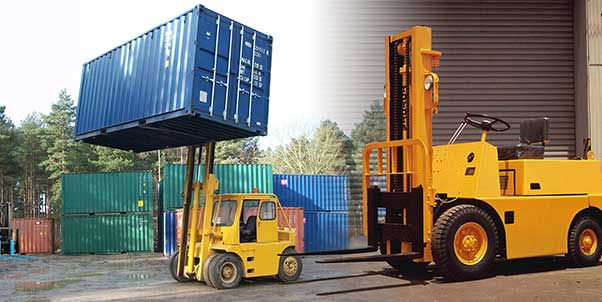 Forklift Certification Container Lift